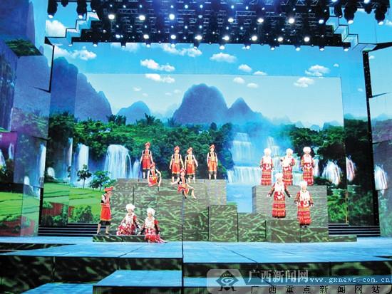 广西山歌唱响央视 演员们感慨:央视舞台并不远