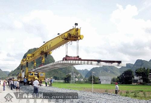 德靖铁路有望年底开通 靖西到南宁全程在3小时内