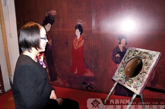 广西博物馆馆藏铜镜展开展 出土铜镜焕发神韵(图)