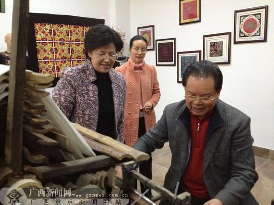 河池市非物质遗产展示中心汇集壮乡文化瑰宝