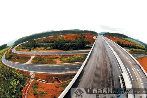 钦州至崇左高速公路年底将通车 体验东盟风情(图)
